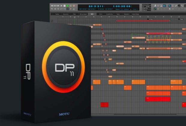 MOTU Digital Performer 11 daw software audio pro studio audiofader