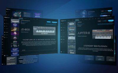 Roland TR-06 Cloud Pro Membership hardware drum machine audiofader