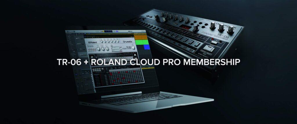 Roland TR-06 Cloud Pro Membership hardware drum machine strumenti musicali