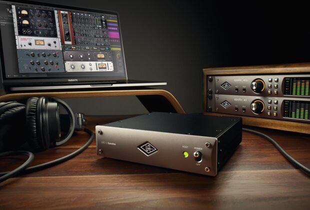 Uad Satellite Promo octo quad acceleratore dsp hardware rec mix mastering itb plug-in universal audio midiware audiofader