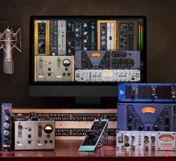 Universal Audio Desktop Platinum Vocal Promo plug-in software voce processing midiware audiofader offerta sale