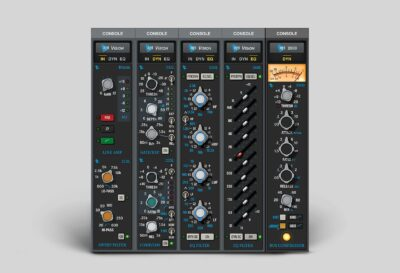 Universal Audio Vision Channel Strip andrea scansani test review audiofader midiware test recensione
