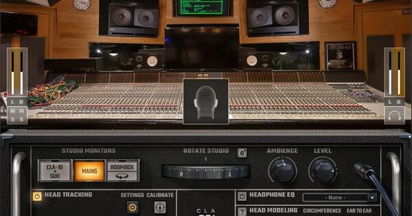 Waves CLA-Nx plug-in audio software daw mixing headphpones cuffie chris lord-alge audiofader