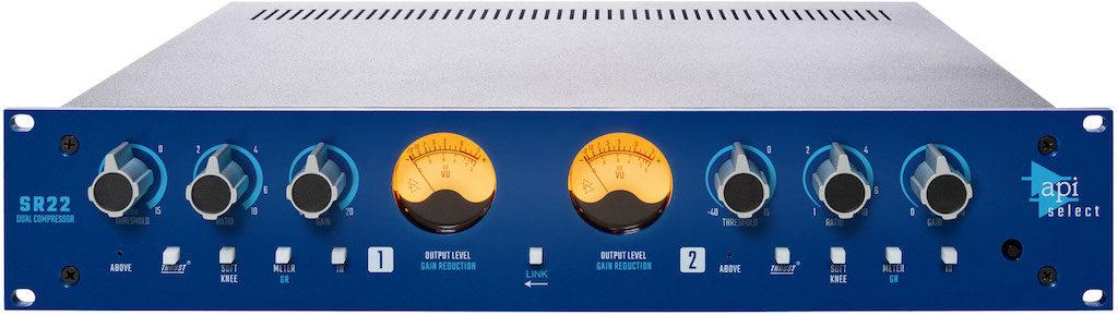 API Select SR22 compressore hardware rack api500 processing mix record funky junk audiofader