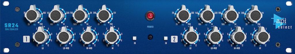 API Select SR24 eq hardware rack api500 processing mix record funky junk audiofader