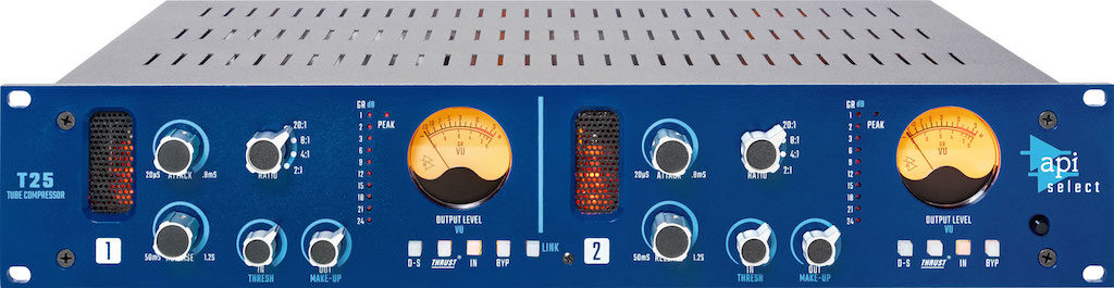 API Select T25 compressore FET hardware rack api500 processing mix record funky junk audiofader