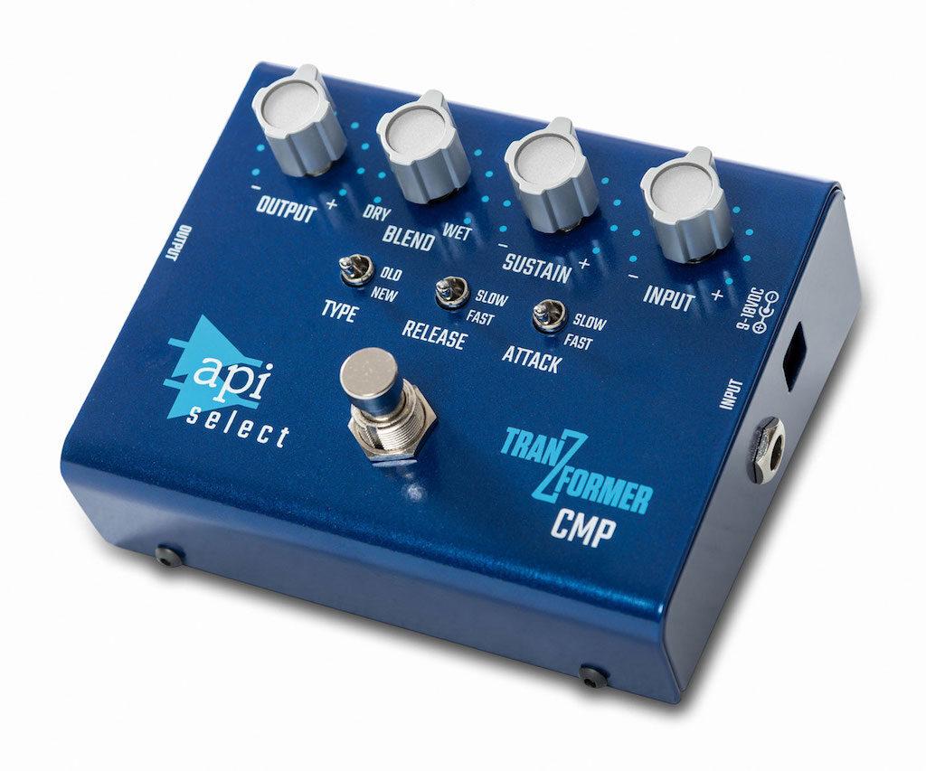 API Select TranZformer CMP guitar compressor hardware rack api500 processing mix record funky junk audiofader