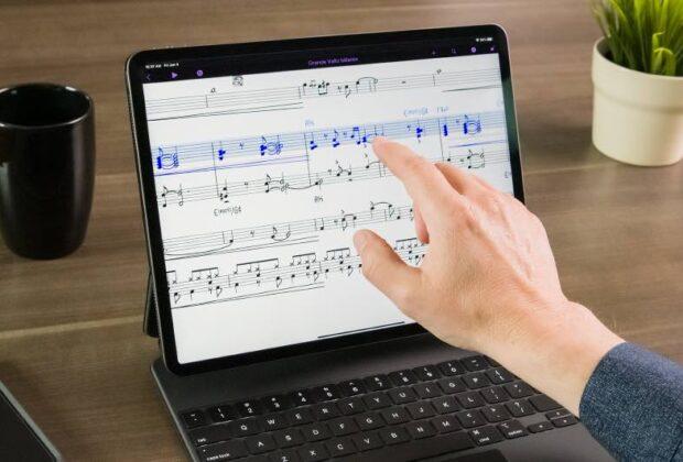 Avid Sibelius iPad notation notazione spartito tablet soundwave audiofader