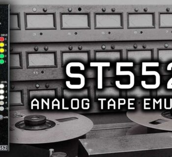 HRK ST552 analog tape emulator nastro distorsione armonica mix mixing api500 outboard audiofader
