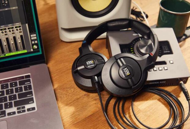 KRK KNS 6402 cuffie headphones studio audio pro monitoring audiofader