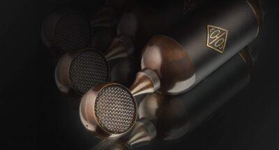 Soyuz 017 Series Brass Black microfono recording audio pro studio audiofader