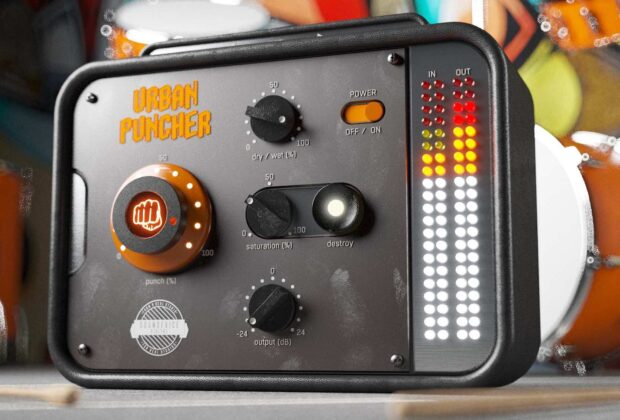United Plugins soundevice digital Urban Puncher plug-in audio software daw mixing audiofader
