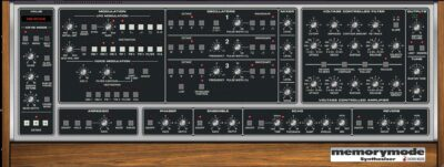 Cherry Audio Memorymode review opinion recensione Memorymoog Luca Pilla strumentimusicali soft synth virtual instrument