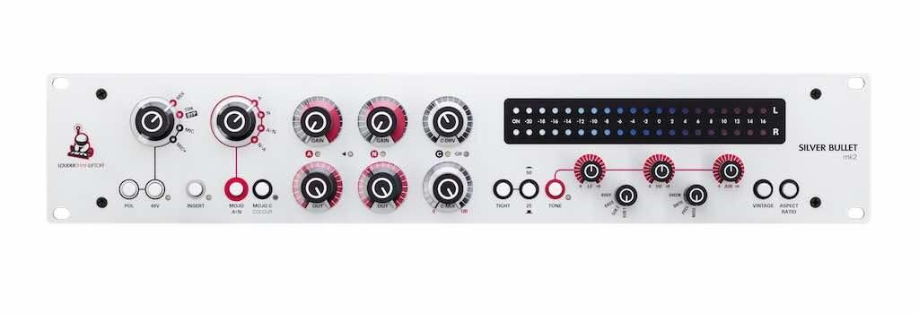 Louder Than Liftoff Silver Bullet mk2 mic preamp mixbus mixing mastering audiofader
