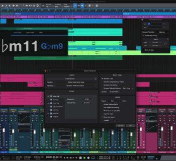PreSonus Studio One 5.4 daw software recording studio editing mixing midi music audiofader