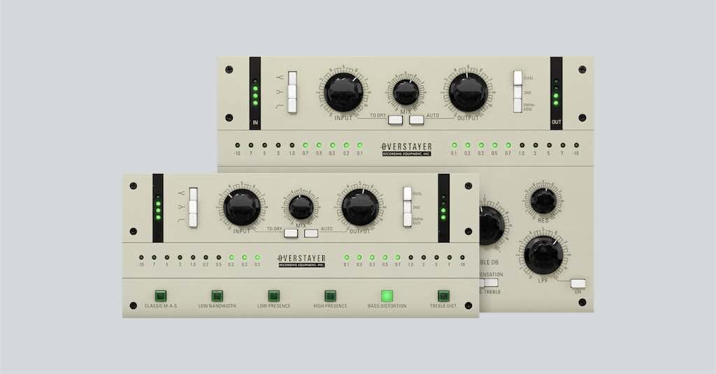 Softube Overstayer plug-in audio software daw mixing audiofader midiware