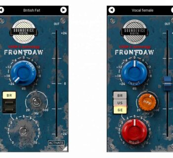 Soundevices Front DAW 2.2 test update aggiornamento firmware audiofader