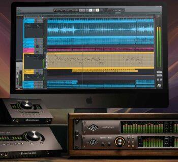 Universal Audio LUNA update 1.2 software daw audio mixing producer midiware audiofader