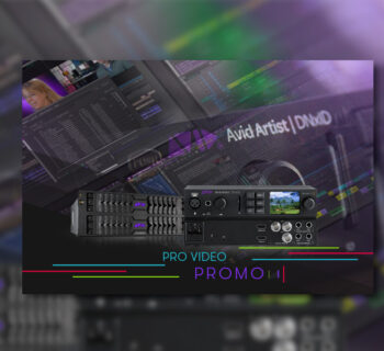 Avid Artist dnxid promo video pro broadcast hardware media composer audiofader