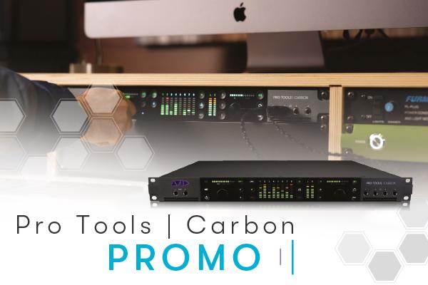 Avid Pro Tools Carbon Promo hardware interfaccia audio recording pro studio project audiofader