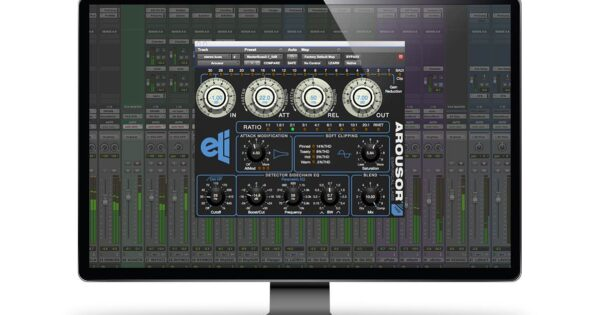 Empirical Labs Arousor compressor distressor software plug-in audio daw mixing audiofader test review recensione andrea scansani