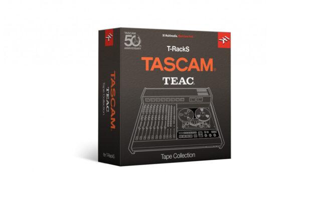Ik Multimedia Tascam Tape Collection virtual software plug-in audio mixing registratori nastro audiofader