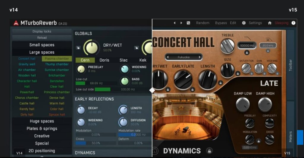 Melda Productions v15 plug-in audio software daw producer mix edit audiofader