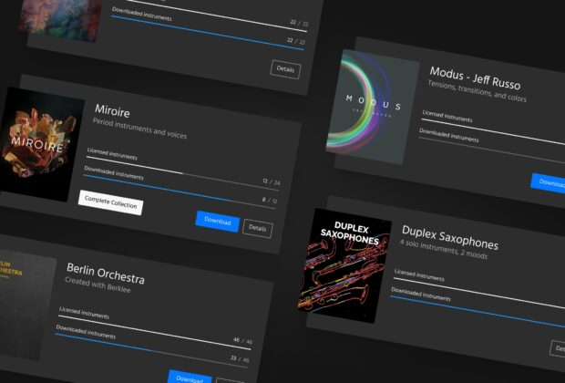 Orchestral Tools SINE player update aggiornamento software aax pro tools avid audiofader