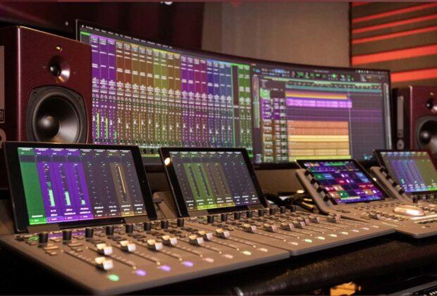 PSI Audio A17-M studio monitor analog hardware recording mixing vdm group audiofader