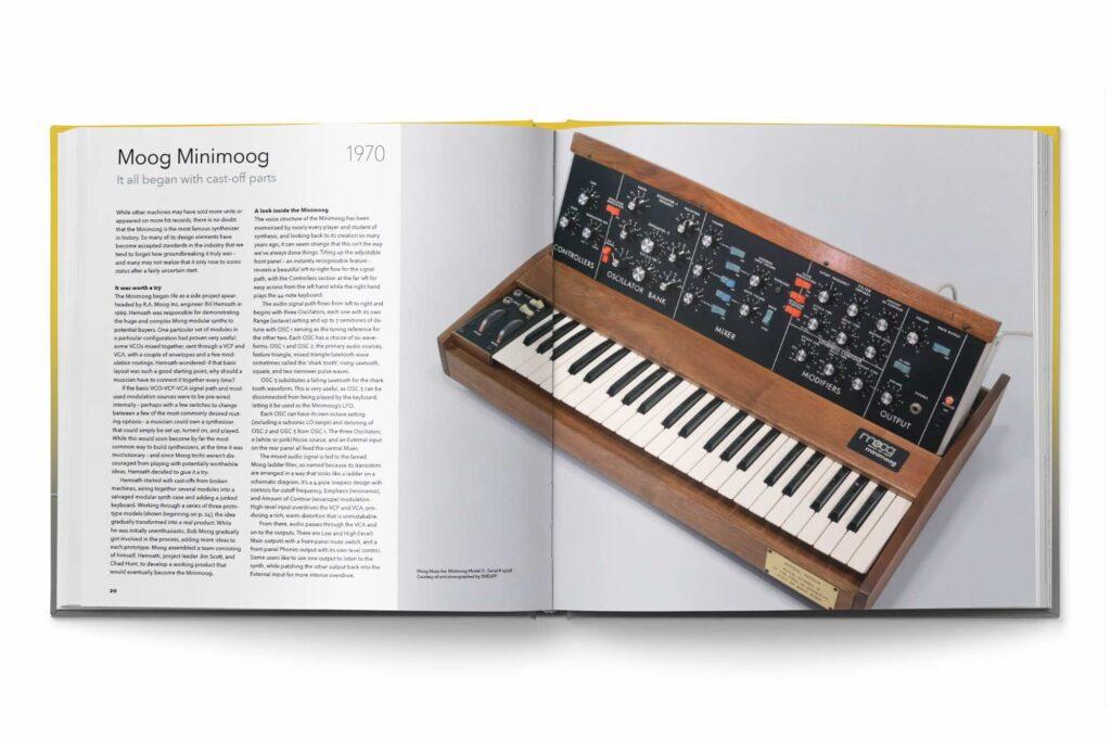 moog minimoog synth gems 1 review recensione opinion libri sintetizzatori luca pilla audiofader
