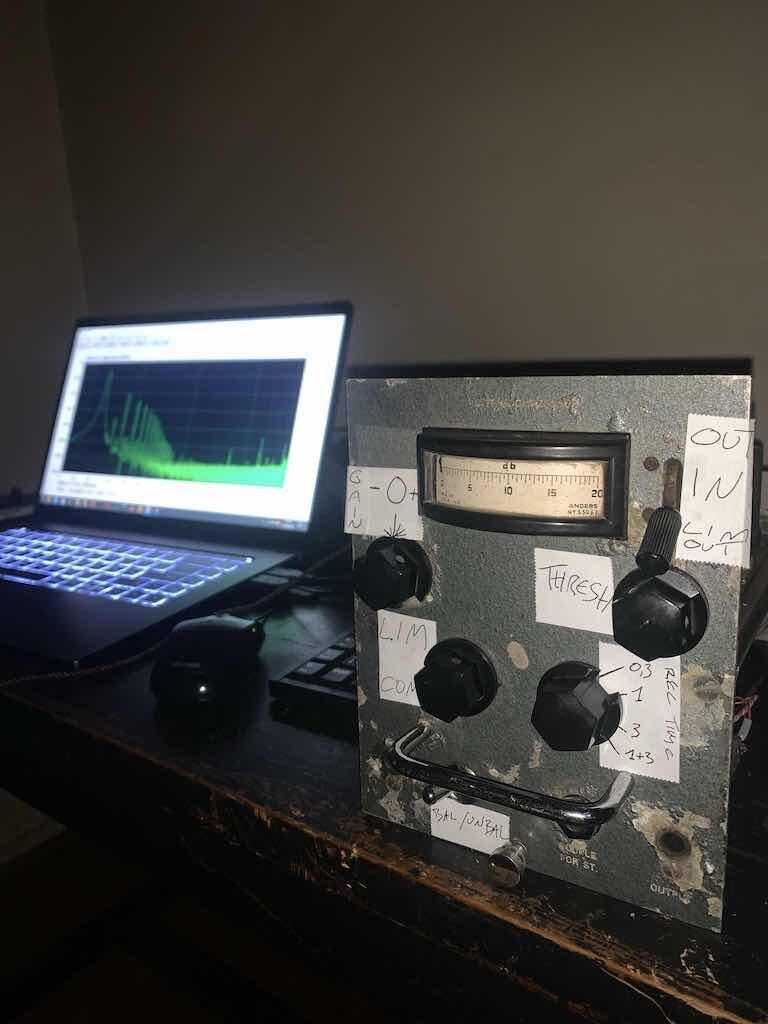 Sodi Marciszewer zarmastudio acustica audio desert decca console luca pilla audiofader